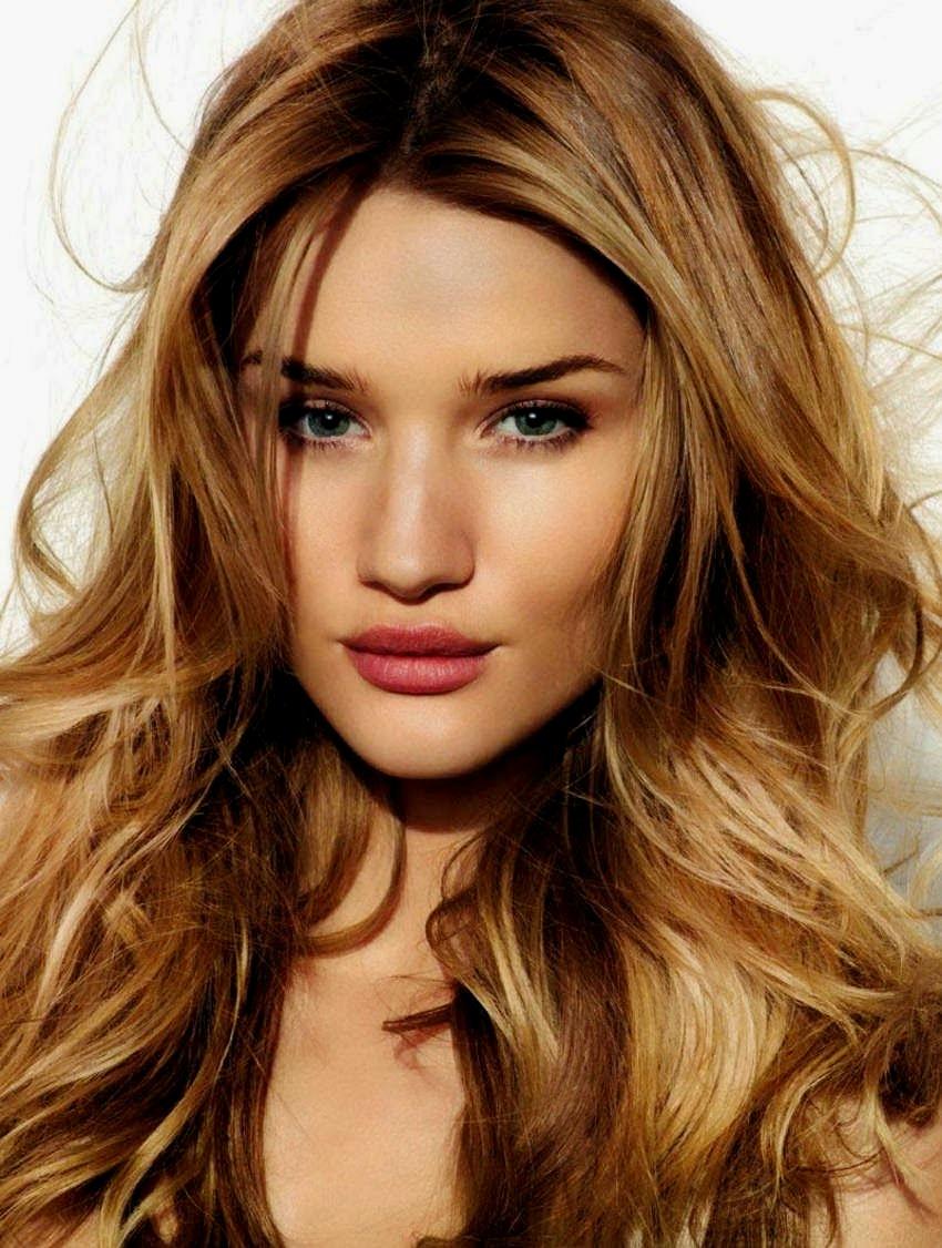 Цвет волос и цвет кожи