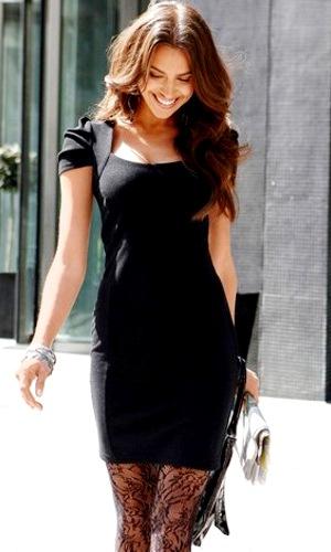 Платье визуально уменьшающее плечи