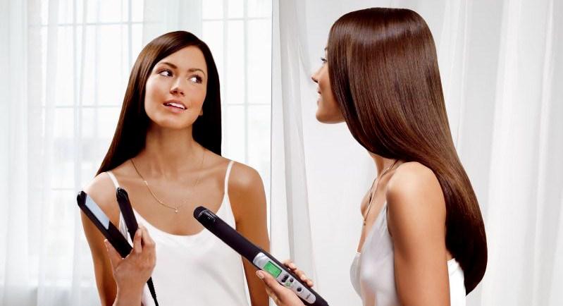 Крем для выпрямления волос без утюжка