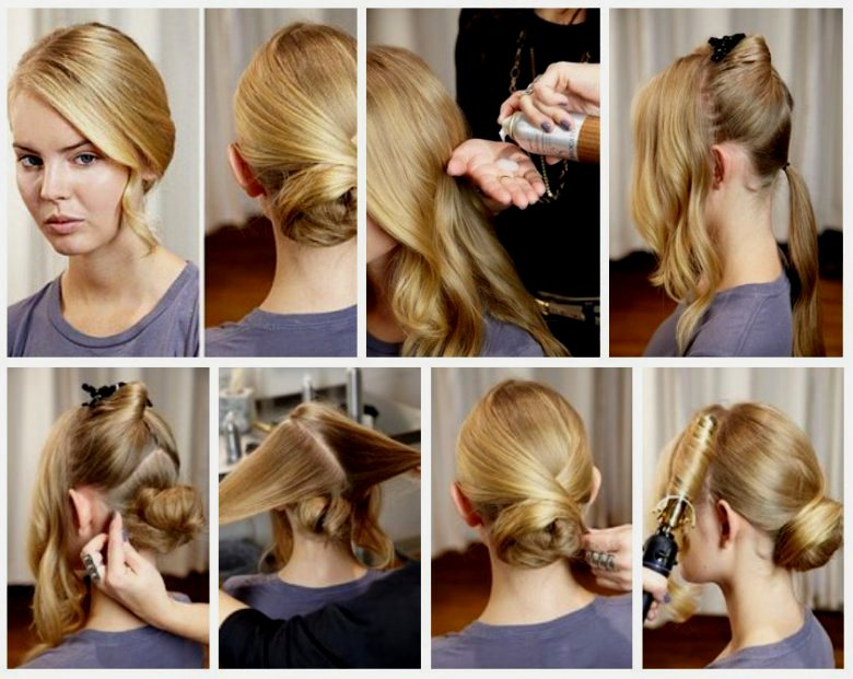 Вечерние причёски в домашних условиях своими руками фото