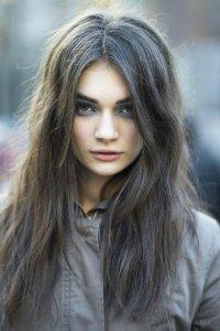 цвет волос темно русый серый