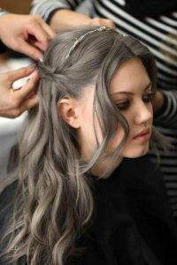 Темно русый цвет волос с пепельным оттенком