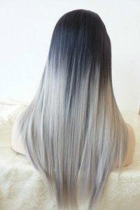 Омбре фото пепельный цвет волос
