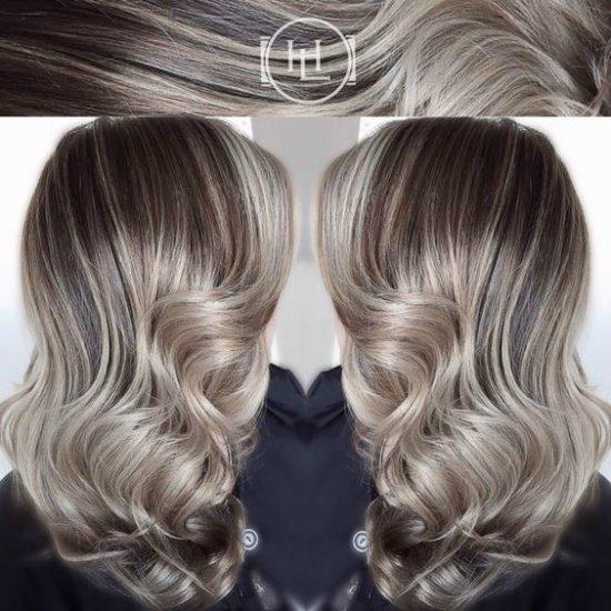 цвет волос жемчужно пепельный фото