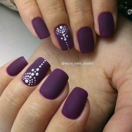 Дизайн ногтей матовые 2017