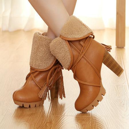 Модная осенняя обувь с фото