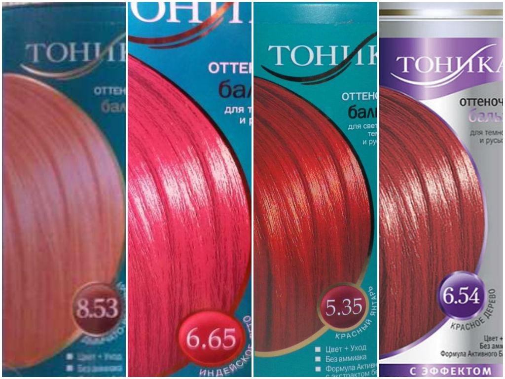 Розовый тоник для волос