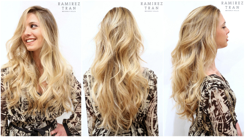 Окрашивание омбре для блондинок - ультрамодный тренд