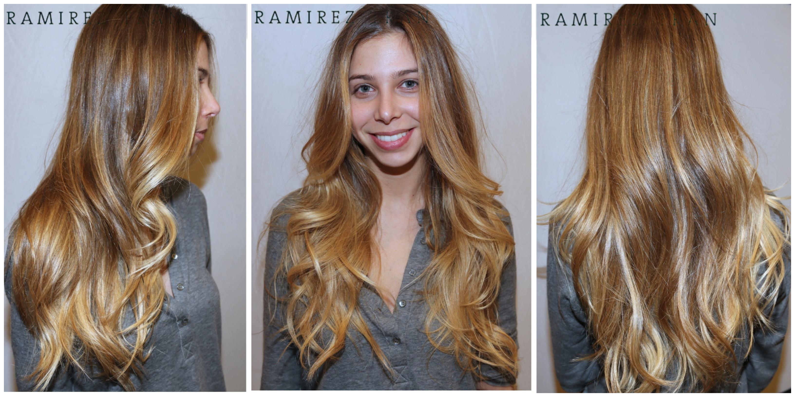 Как сделать посветлее темные волосы фото