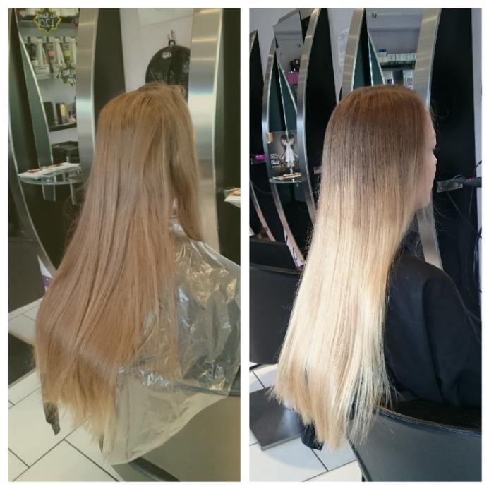 Окрашивание волос Омбре: техника, фото и виды