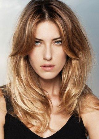 виды мелирования волос на темные волосы фото