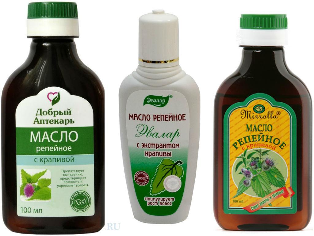 Репейное масло для волос свойства