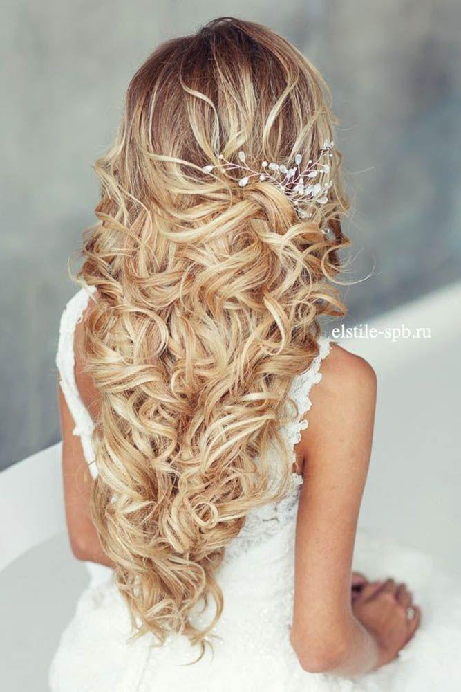 красивые свадебные прически с распущенными волосами фото