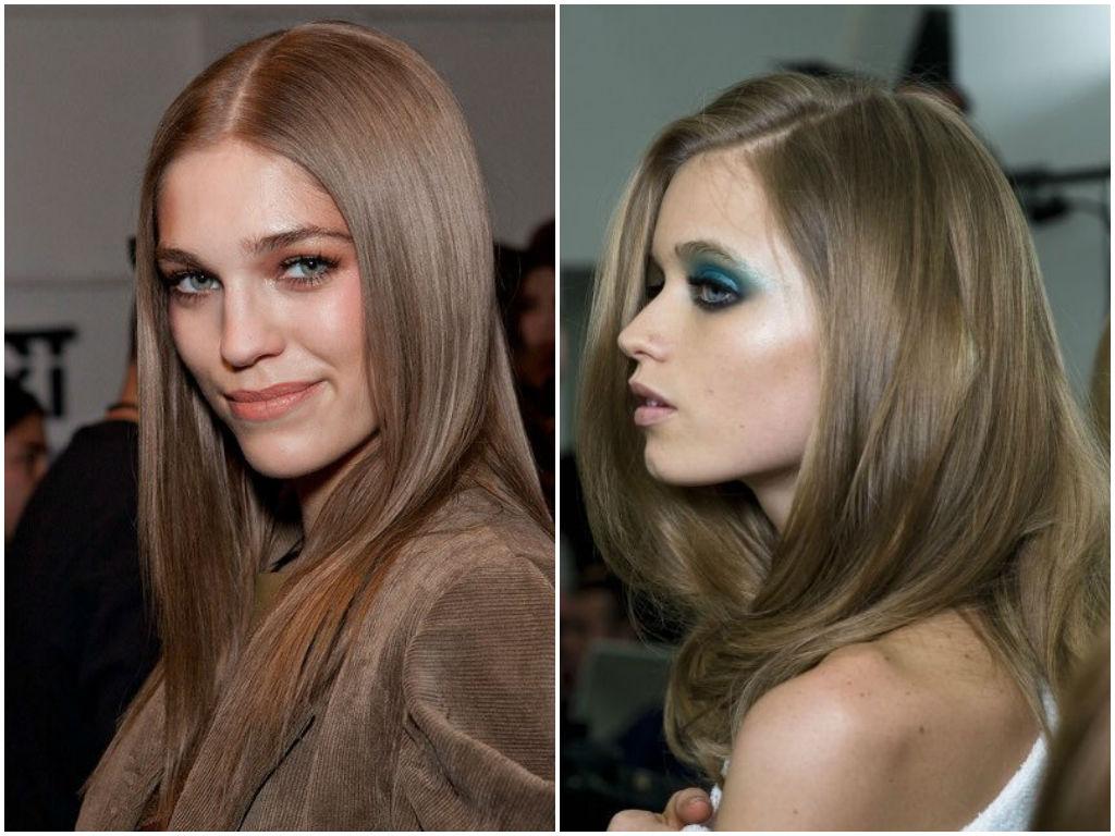Как свой русый цвет волос сделать светлее