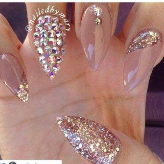 Дизайн ногтей для невесты