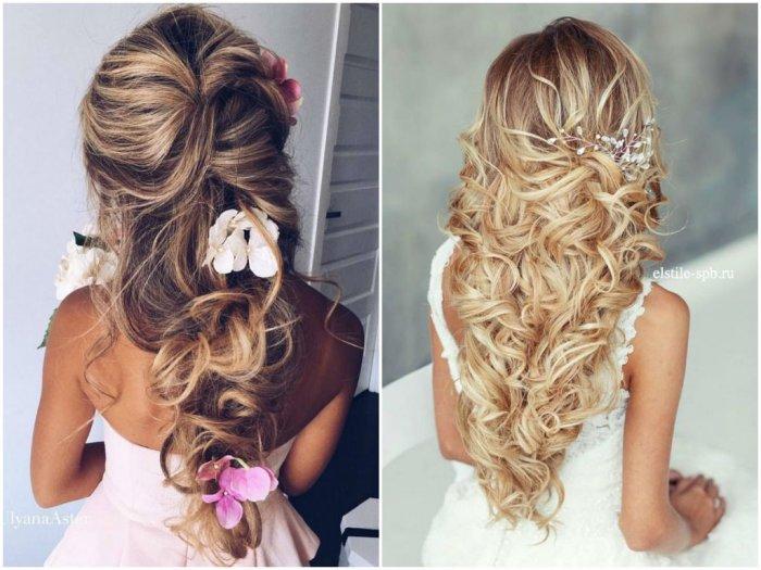 Фото красивых причесок из кос на длинные волосы 5