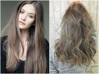 Русый цвет волос - модные оттенки