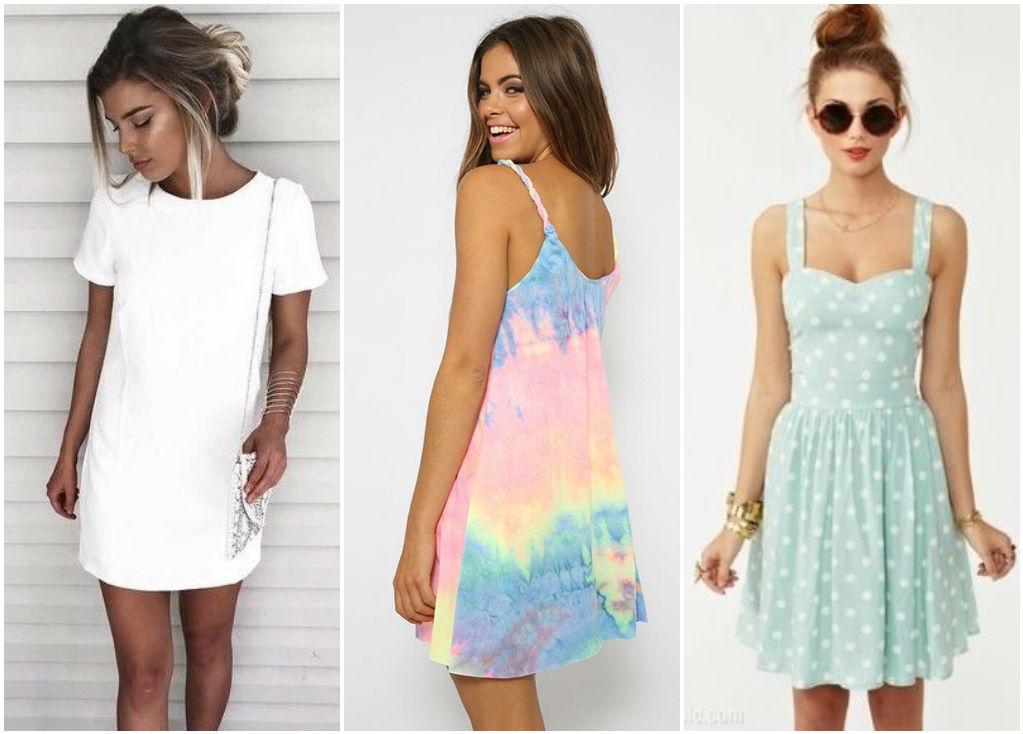 Модные платья и сарафаны к лету