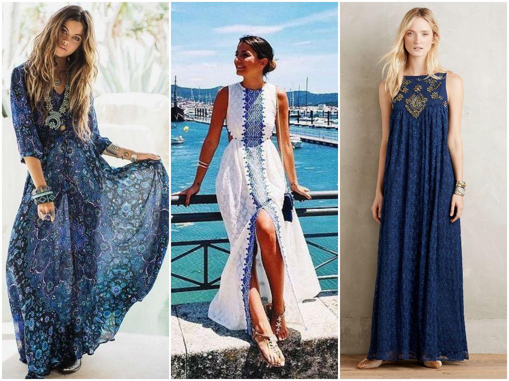 Мода лето 2018 длинные сарафаны