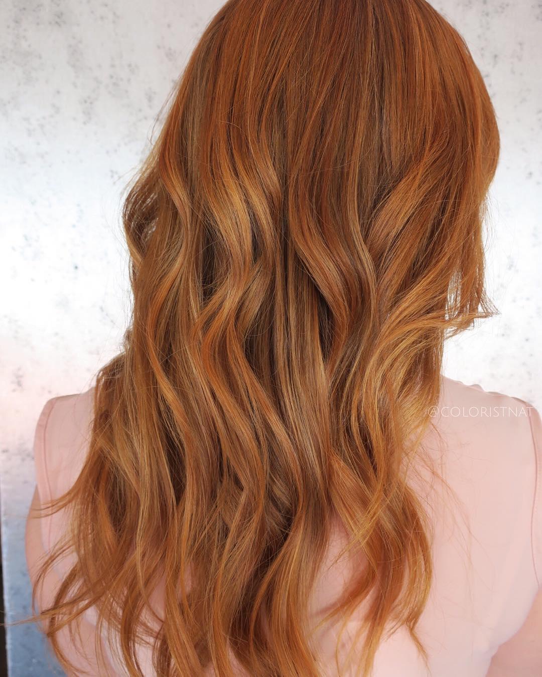 Как сделать рыжие волосы темнее в домашних условиях