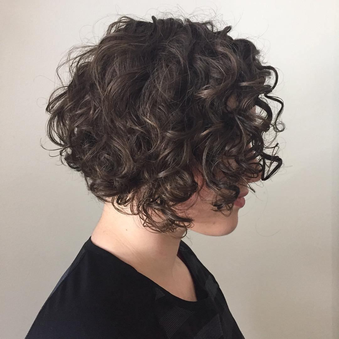 Стрижки для вьющихся волос (66 фото короткие, средние, длинные прически) 32