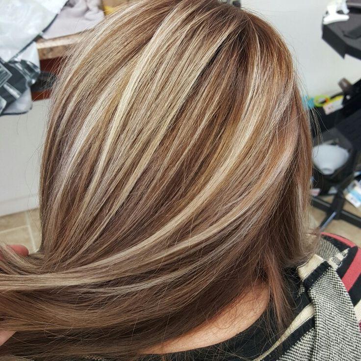 Как сделать мелирование на коричневых волосах 915