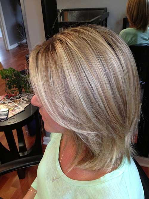 Красивое мелирование на светлые волосы фото 189