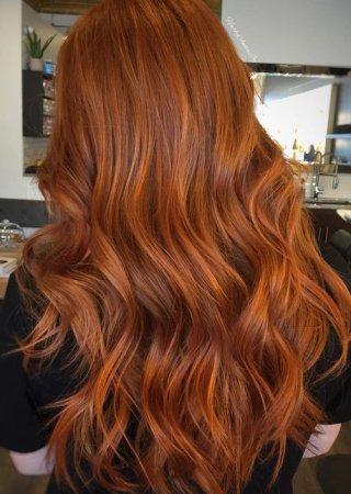 цвета волос рыжие фото