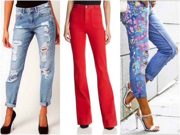 140cce2f3a7 Модные женские джинсы  тренды 2019