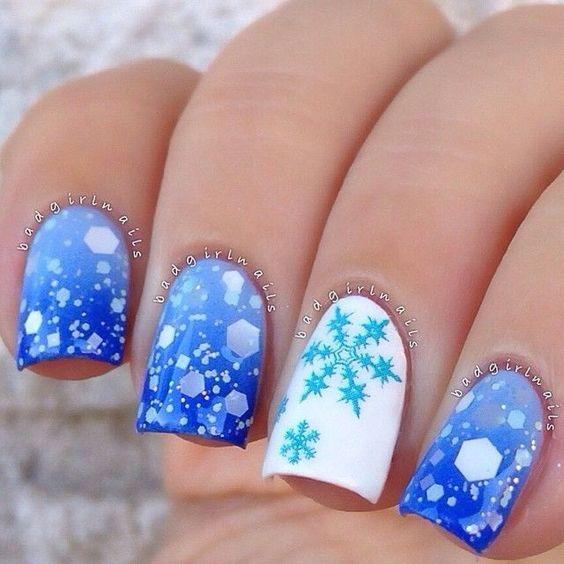 фото ногти зима 2014-2015