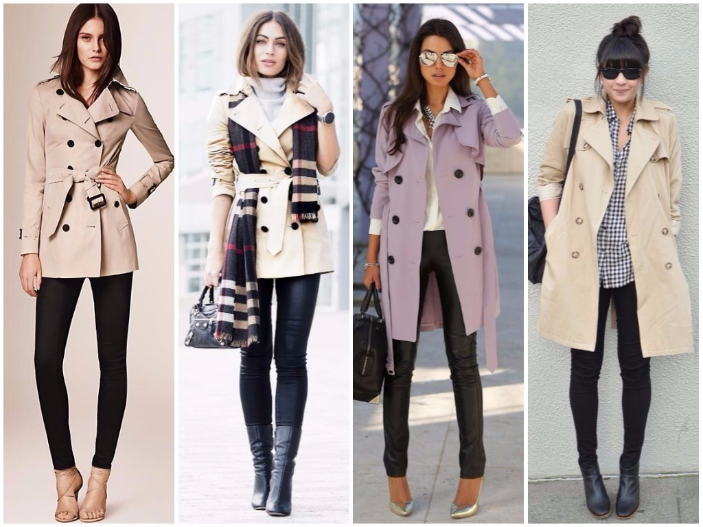 501ad726bf0 Модные женские плащи и пальто осень-зима 2018-2019