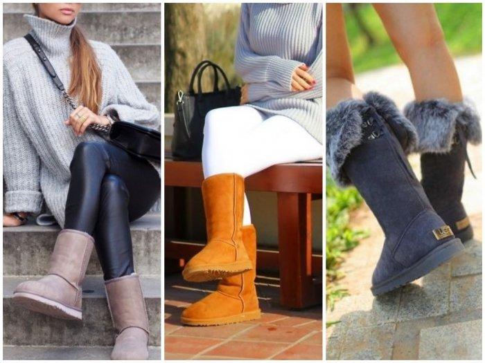 Женские ботинки - фото