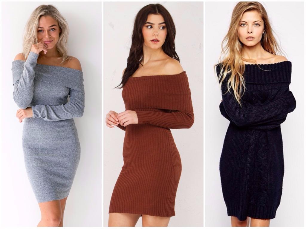 b86b1dc9644 Модные платья осень - зима 2018-2019