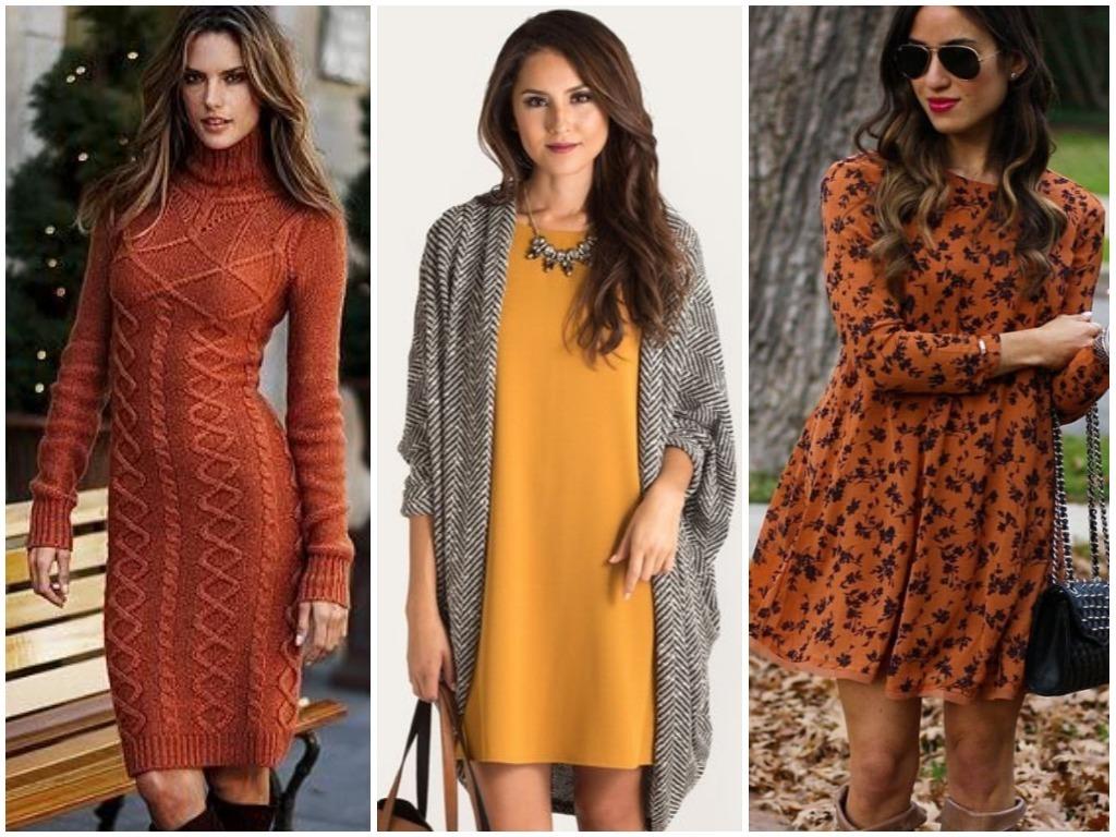 e79d1397540a Модные платья осень - зима 2018-2019   Фото - новинки