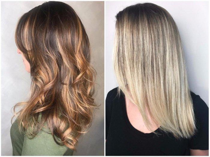 Стрижки на средние волосы 2018 : Фото
