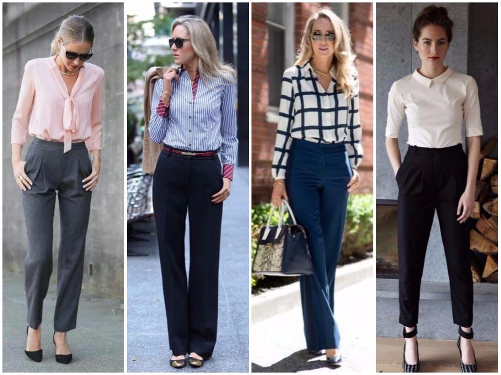 7db16bd3ef6 Модные женские брюки осень-зима 2018-2019