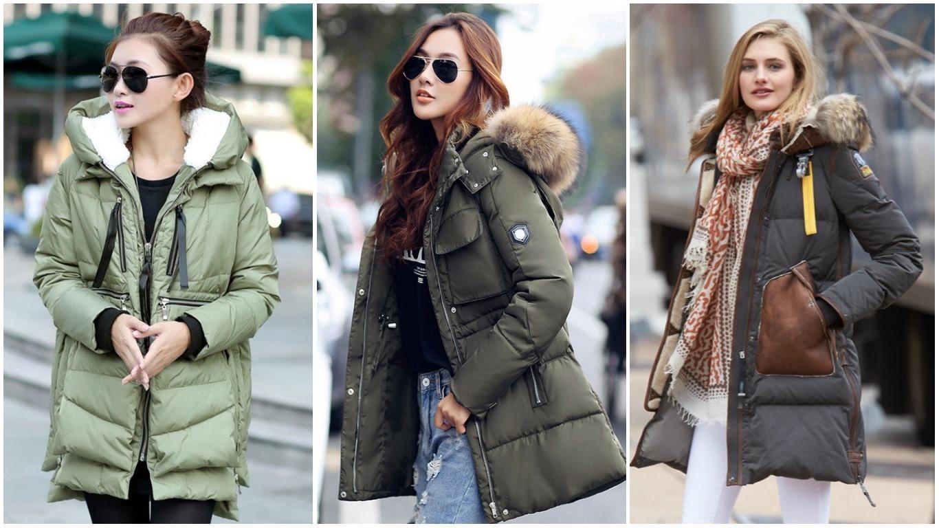 модные куртки и пуховики женские зима 2018 2019 фото