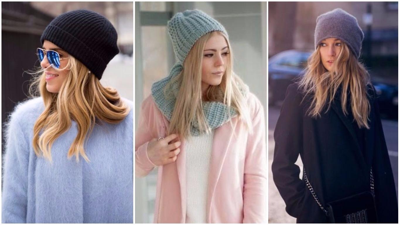 женские шапки осень зима 2018 2019 модные тенденции фото