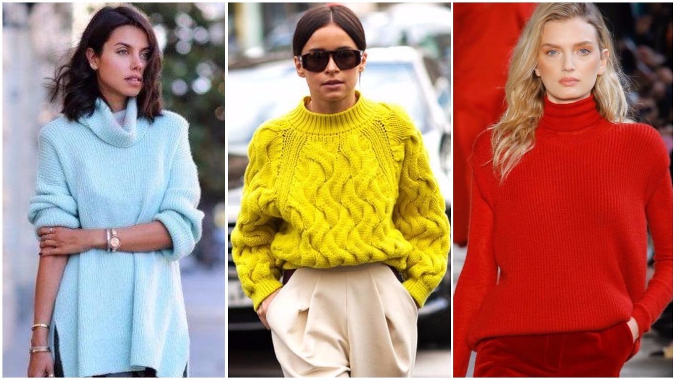 Топ 10 трендов вязания спицами для женщин года 63