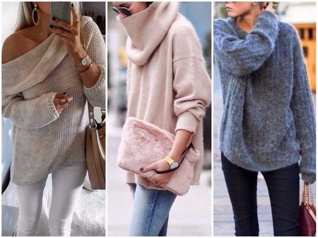 Модные женские джемперы – 2019