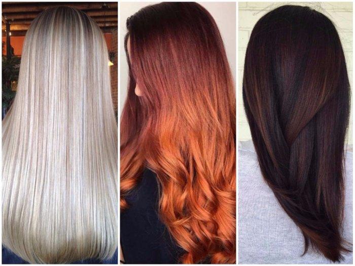 Цвет волос 2019: модные тенденции и фото