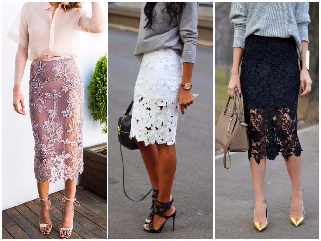 Модные юбки на осень 2018 года: на фото длинные модели