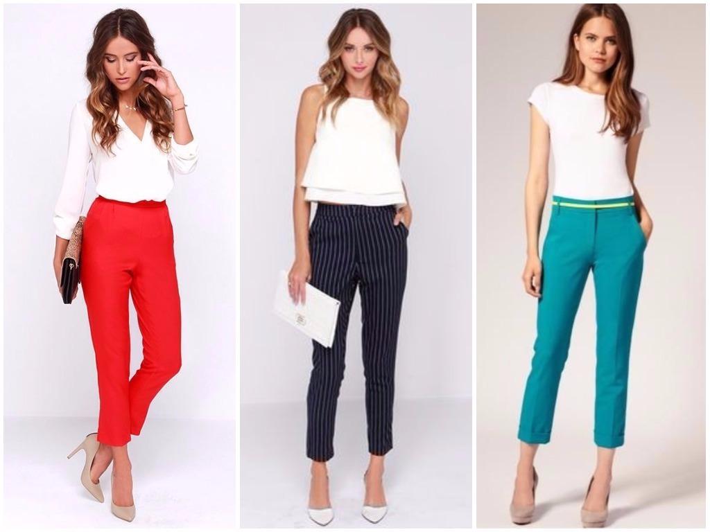 59193578 Модные брюки весна – лето 2019 женские | Фото, тенденции