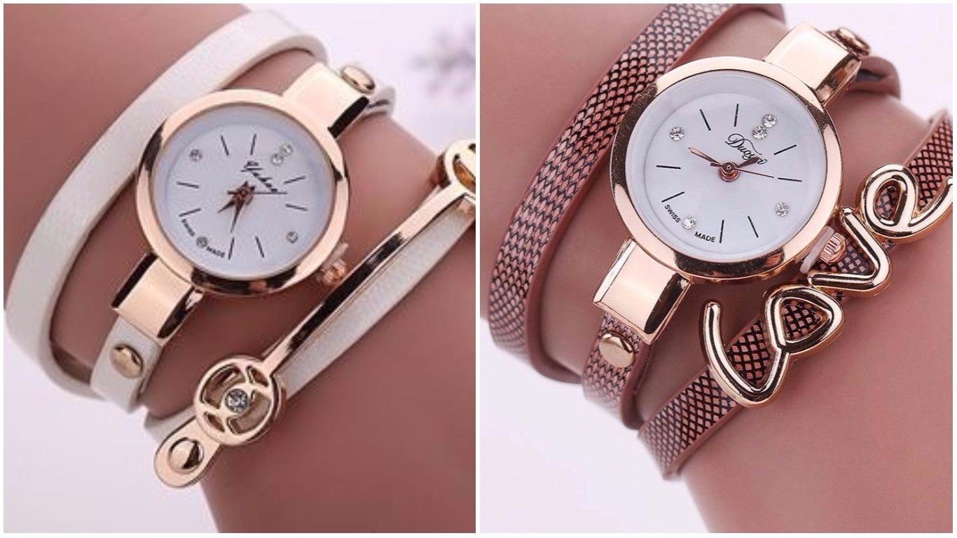 455b8294b352 Модные часы 2018  наручные женские модели   Фото
