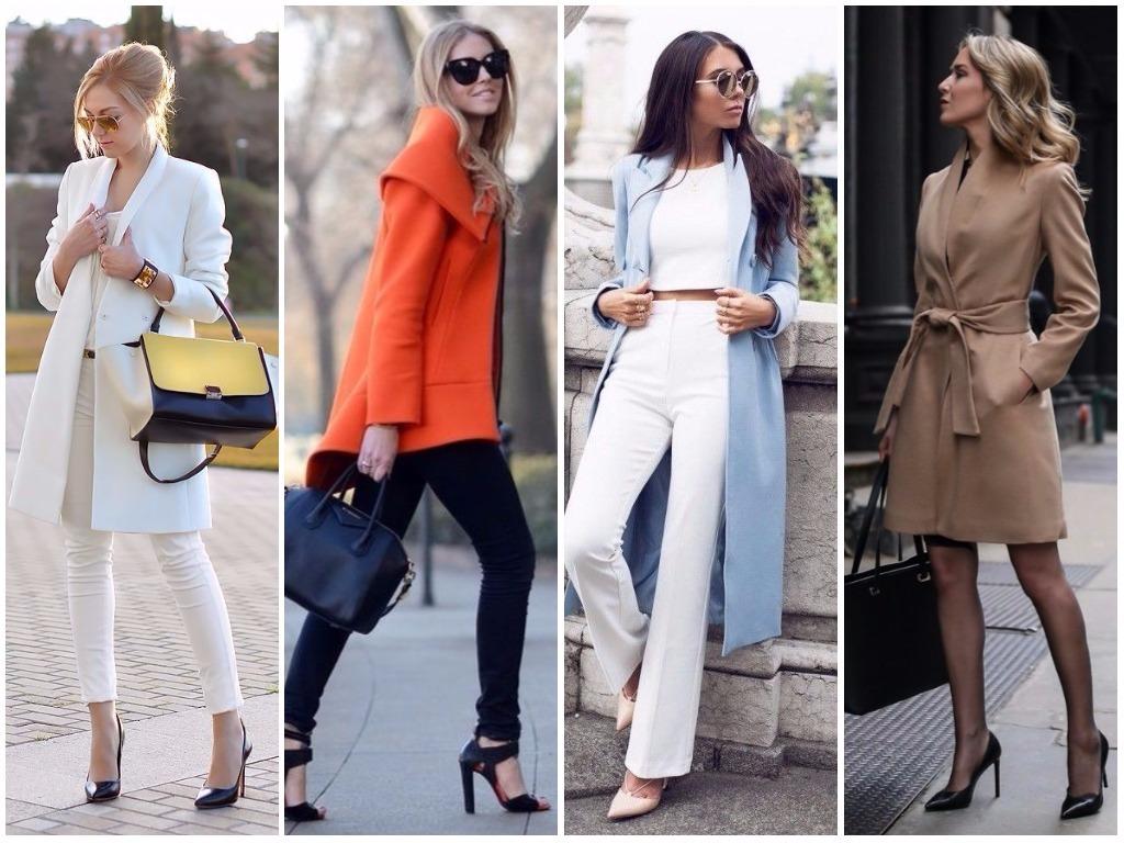 Модные Пальто 2018 Весна