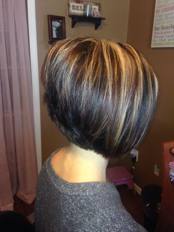 Пошаговое мелирование на короткий волос фото