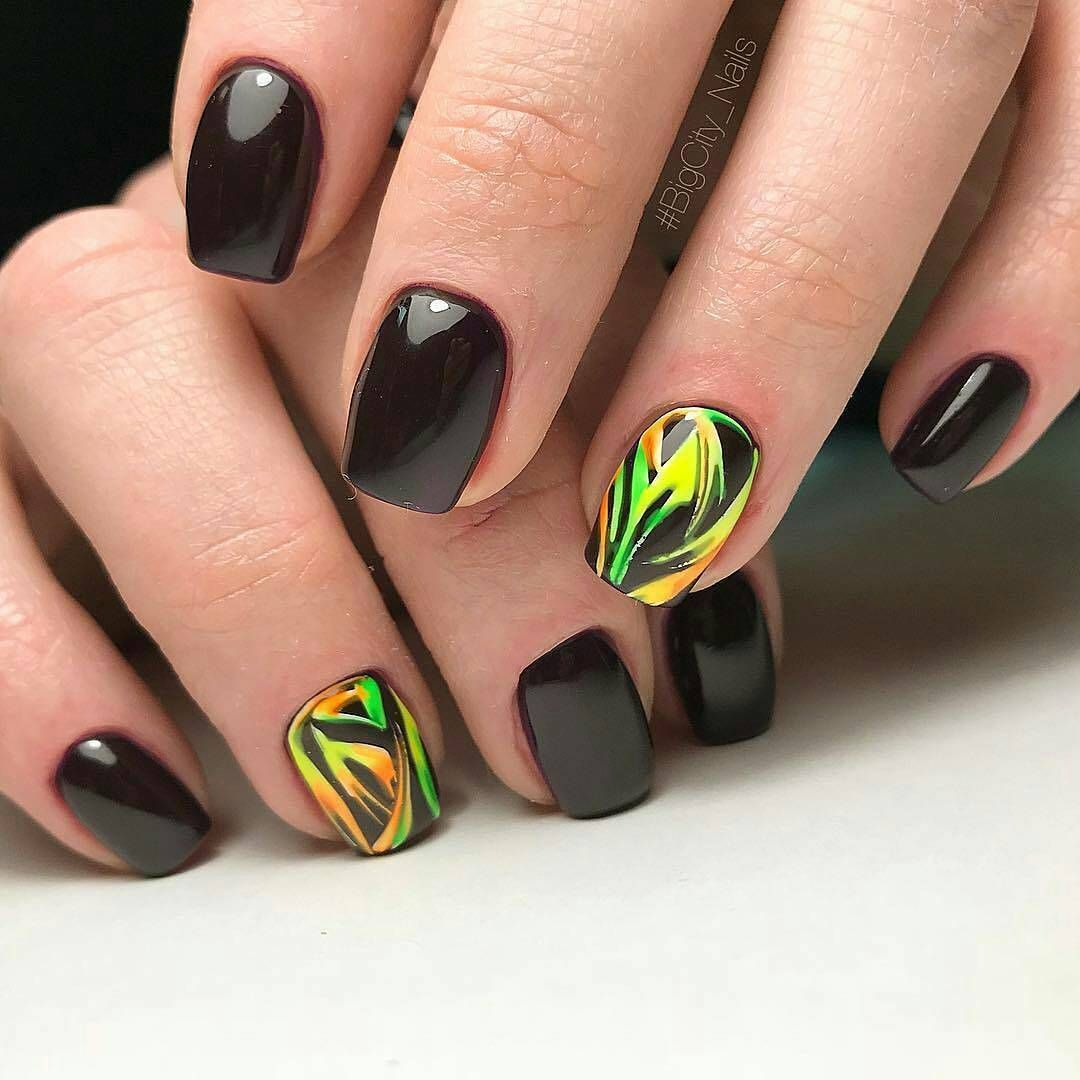 Модные цвета ногтей 2018 фото