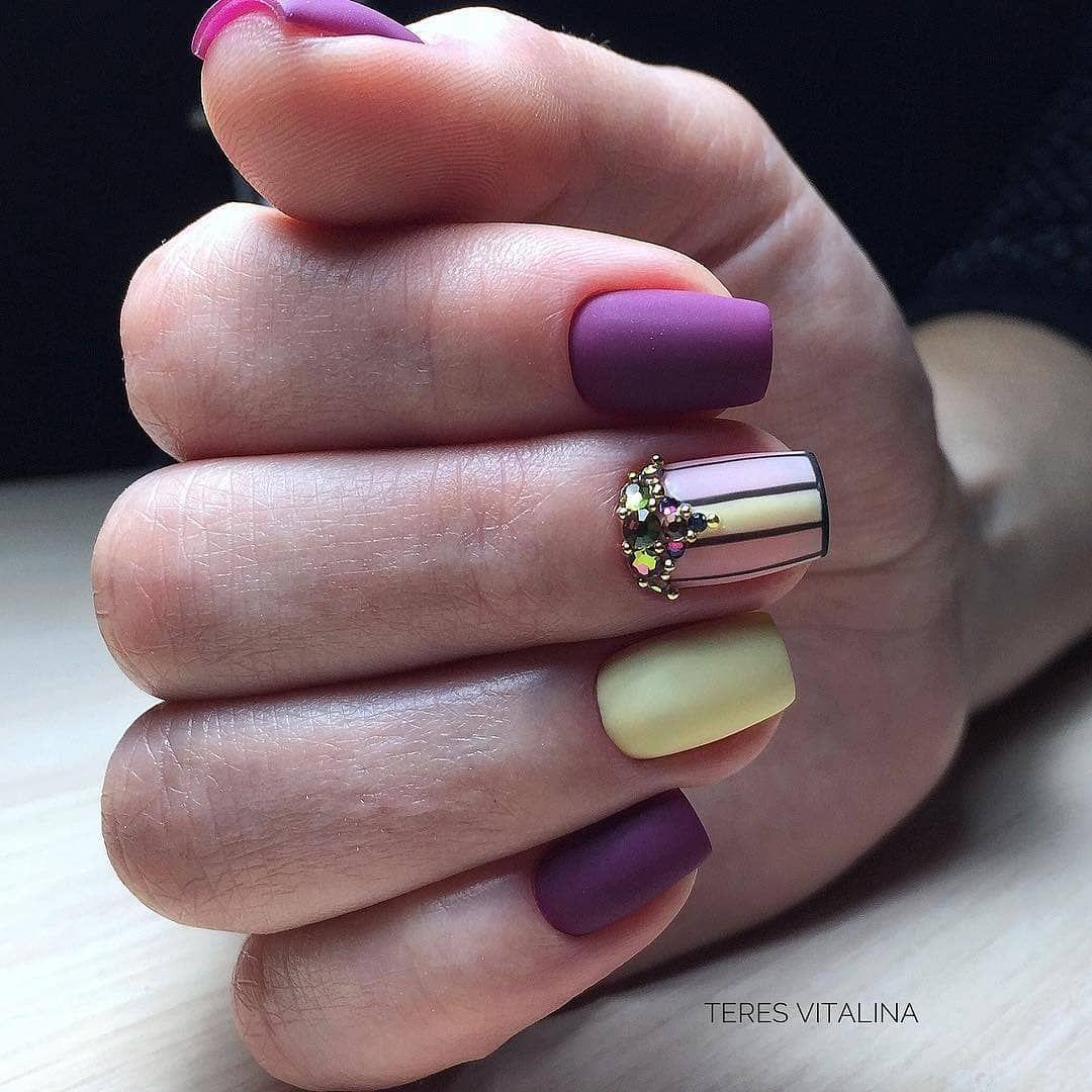 Дизайн акриловых ногтей фото 2018 новинка