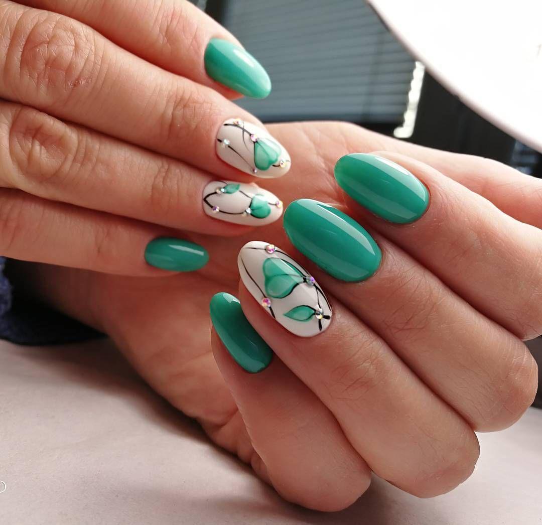 Акриловые ногти 2018 фото новинки весна