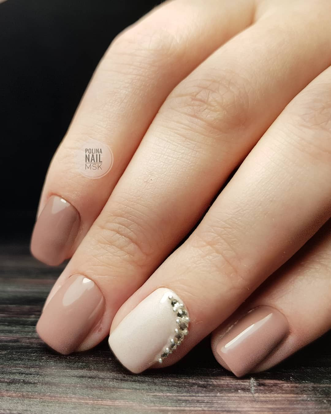 Нежный маникюр на ногтях фото 2018 новинки